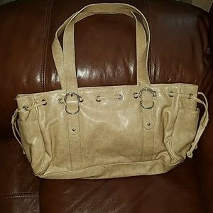 Handbags - Creamy, light colored tan/ beige purse